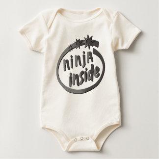 Ninja Inside! Baby Bodysuit