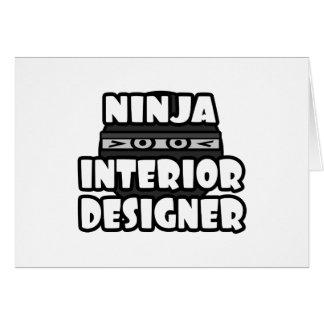 Ninja Interior Designer Card
