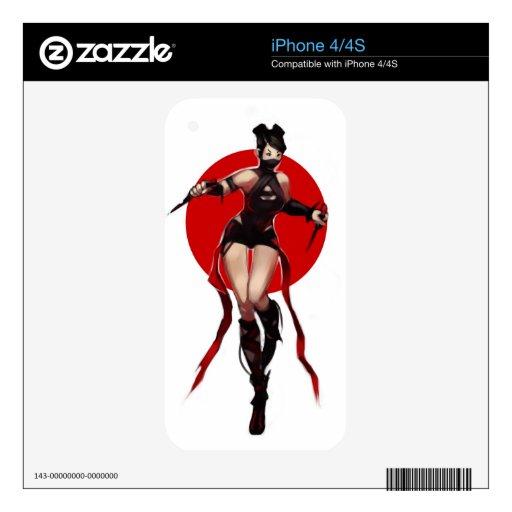 Ninja iPhone 4S Skin