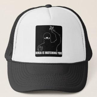Ninja is watching you trucker hat