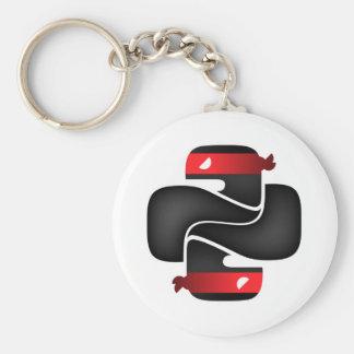 Ninja items keychain