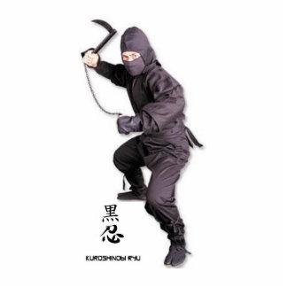 ninja jack, sculpture standing photo sculpture