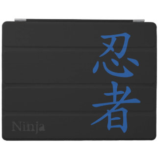Ninja Japanese Kanji iPad 2/3/4 Cover iPad Cover
