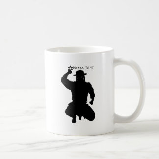 Ninja Jew Classic White Coffee Mug
