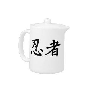 Ninja Kanji Teapot