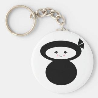 ninja kawaii dolly keychain