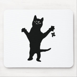 Ninja Kitteh Mouse Pad