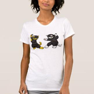 Ninja Kittens Tee Shirt