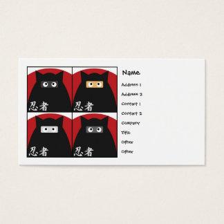Ninja Kitty Business Card
