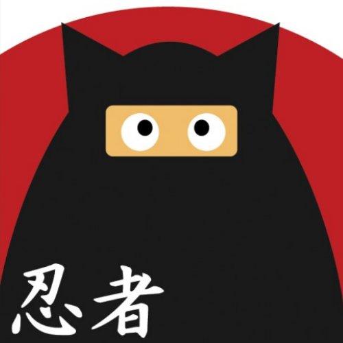 Ninja Kitty Button button