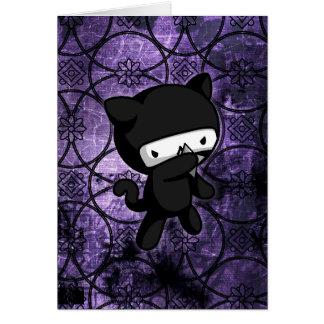 Ninja Kitty Card