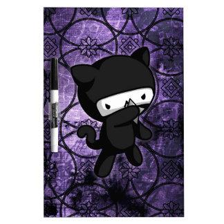 Ninja Kitty Dry-Erase Boards