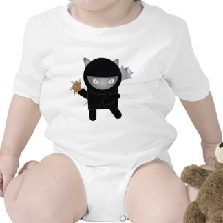ninja kitty infant onsie t shirt