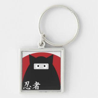 Ninja Kitty Keychain
