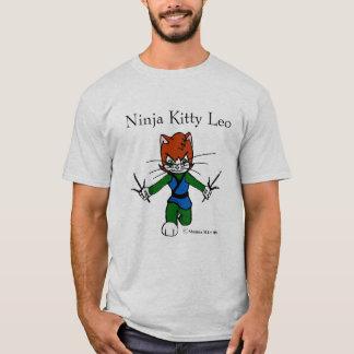 Ninja Kitty Leo T-Shirt