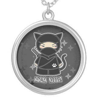 Ninja Kitty! Multi Shuriken Ninjadorables Necklace