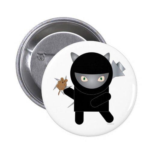 ninja kitty pin