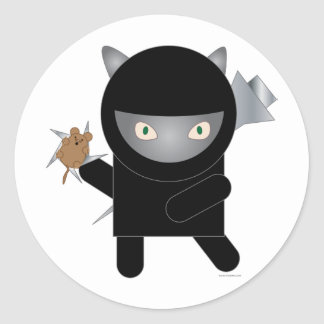 ninja kitty sticker