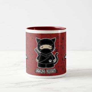 Ninja Kitty! With Rice Bowl Mug