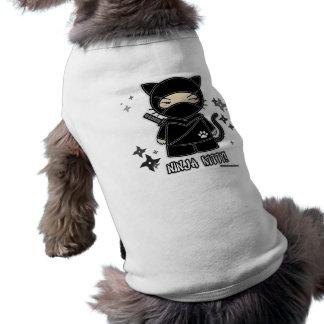 Ninja Kitty! With Shurikens Pet Clothing