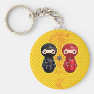 Ninja Kokeshi Keychain