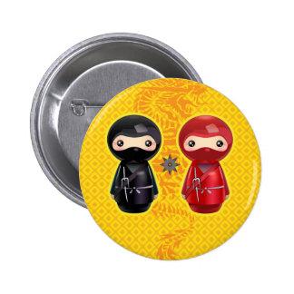 Ninja Kokeshi Pin