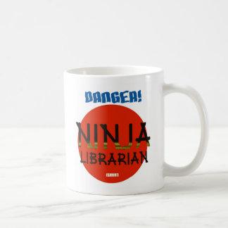 Ninja Librarian Coffee Mug