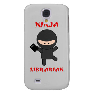 Ninja Librarian With Book Samsung Galaxy S4 Cases