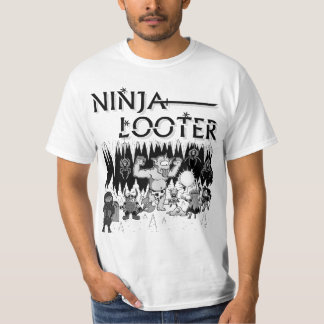 Ninja Looter (Cut & Run) T-Shirt