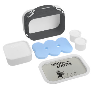 Ninja Looter (Not So Fast) Lunch Boxes