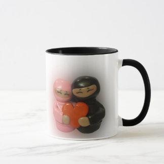 Ninja Love Couple Mug