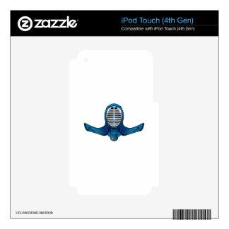 Ninja Mask Skins For iPod Touch 4G