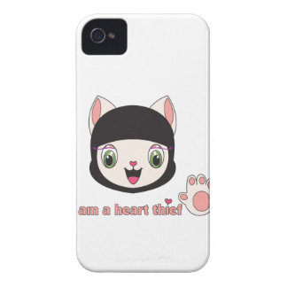 Ninja MEOW™ BlackBerry Case-Mate iPhone 4 Cover