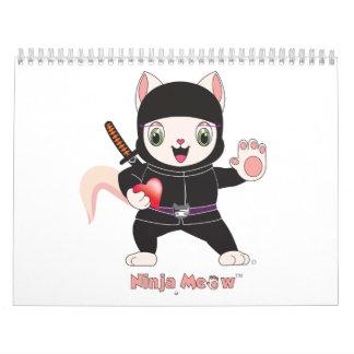 Ninja MEOW™ Calendar