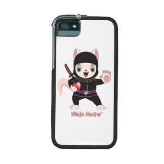 Ninja MEOW™ iPhone 5/5S Cases