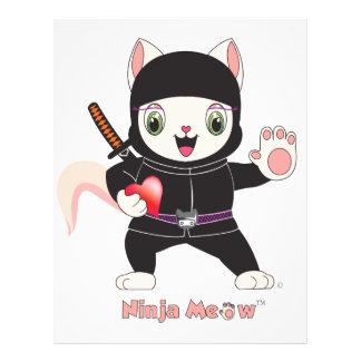 Ninja MEOW™ Flyer