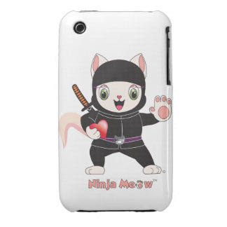 Ninja MEOW™ iPhone 3G/3GS Case-Mate iPhone 3 Case-Mate Cases