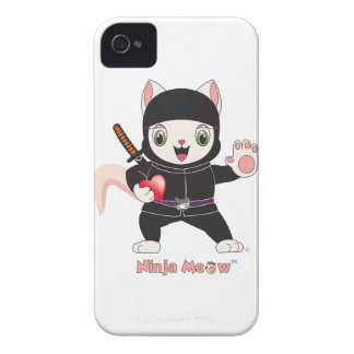 Ninja MEOW™ iPhone 4/4S Case-Mate iPhone 4 Cover