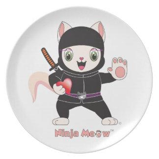 Ninja MEOW™ Plate