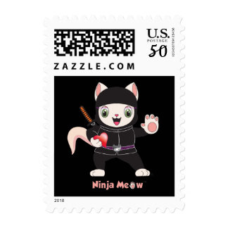 Ninja MEOW™ Stamp