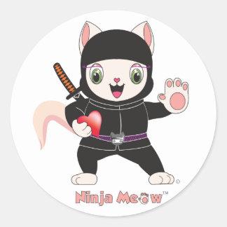 Ninja MEOW™ Sticker