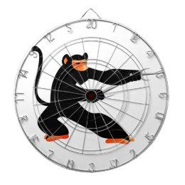 Ninja Monkey Dartboard