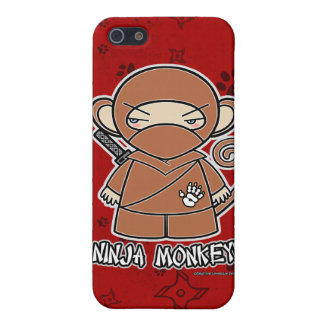 Ninja Monkey! Ninja iPhone 4 Case Red