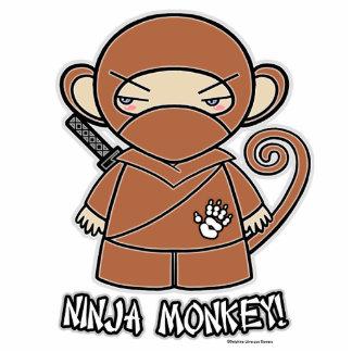Ninja Monkey! Photo Sculpture