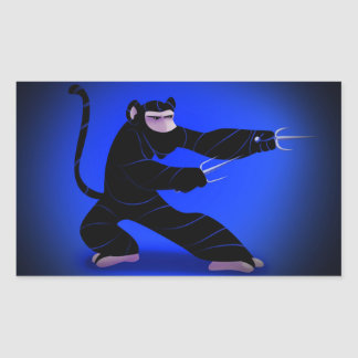 Ninja Monkey Sticker
