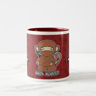 Ninja Monkey! With Rice Bowl Mug