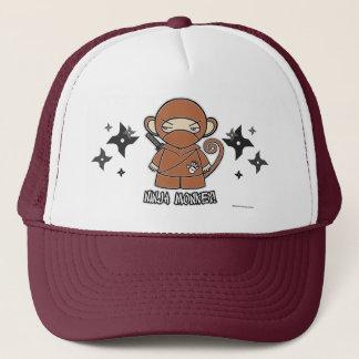 Ninja Monkey! With Shurikens Hat