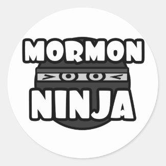 Ninja mormón pegatina