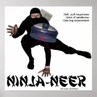 Ninja-neer Poster