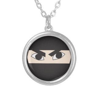 Ninja negro pendiente personalizado